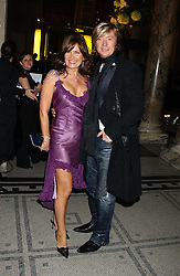 Hairdresser NICKY CLARKE and his former wife LESLEY CLARKE at the 2005 British Fashion Awards were held at The V&A museum, London on 10th November 2005.<br /><br />NON EXCLUSIVE - WORLD RIGHTS