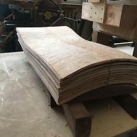 chair making, jigs, patterns, molds