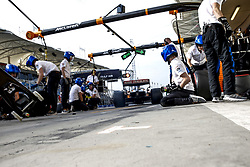 March 30, 2019 - Sakhir, Bahrain - Motorsports: FIA Formula One World Championship 2019, Grand Prix of Bahrain, ..#55 Carlos Sainz jr. (ESP, McLaren F1 Team) (Credit Image: © Hoch Zwei via ZUMA Wire)