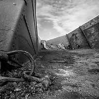 'Abandoned I' - Deception Island, Antarctica<br /> <br /> Whale oil storage containers fade into the landscape as they corrode back into their basis elements.