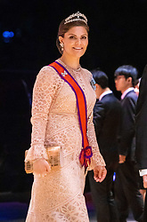 October 22, 2019, Tokyo, Japan: Crown Princess Victoria of Sweden during the Court Banquet during the Accession to the Throne of His Majesty the Emperor of Japan Naruhito, at the Imperial Palace in Tokyo, Japan...Where: Tokyo, Japan.When: 22 Oct 2019.Credit: Dutch Press PhotoCover Images..**NOT AVAILABLE FOR PUBLICATION IN THE NETHERLANDS* (Credit Image: ©  via ZUMA Press)