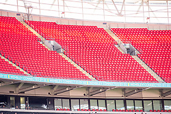 August 5, 2018 - Empty seats at Wembley during the 2018 FA Community Shield match between Chelsea and Manchester City at Wembley Stadium, London, England on 5 August 2018. (Credit Image: © AFP7 via ZUMA Wire)