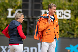 Houtzager Marc, NED, Kayser Julia, AUT<br /> Longines FEI Jumping Nations Cup™ Final<br /> Barcelona 20128<br /> © Hippo Foto - Dirk Caremans<br /> 07/10/2018