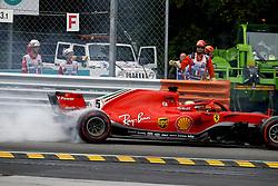 September 2, 2018 - Monza, Italy - Motorsports: FIA Formula One World Championship 2018, Grand Prix of Italy, .#5 Sebastian Vettel (GER, Scuderia Ferrari) (Credit Image: © Hoch Zwei via ZUMA Wire)