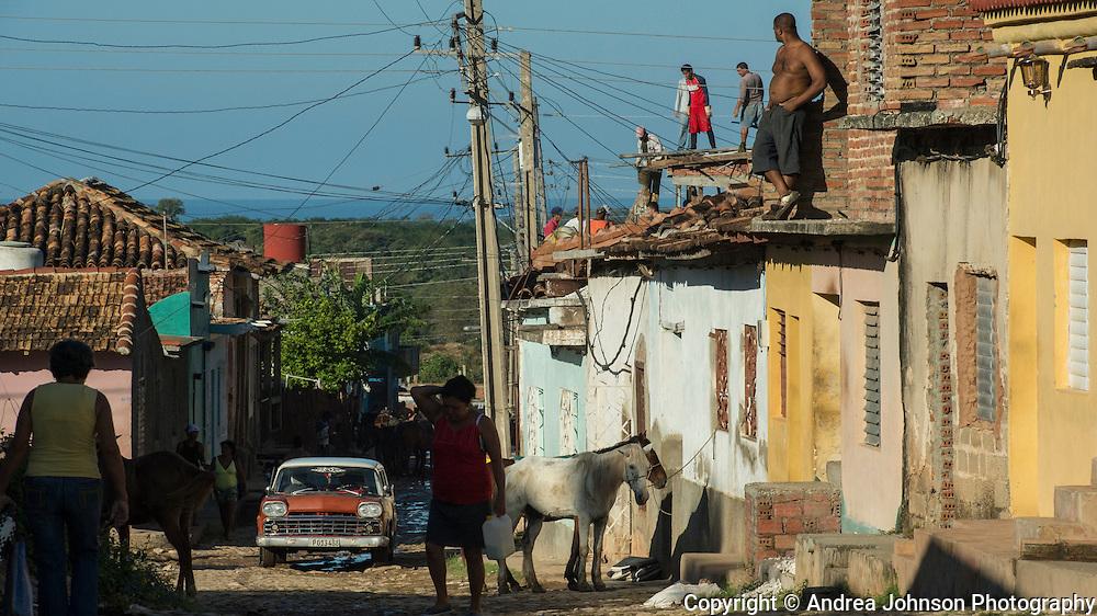 Construction, Trinidad, Cuba