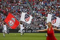 Coreografia AUDI CUP 2017<br /> Monaco 01-08-2017  Stadio Allianz Arena<br /> Football Audi Cup 2017 <br /> Atletico Madrid - Napoli<br /> Foto Cesare Purini / Insidefoto