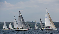 Sailing - SCOTLAND  - 27th May 2018<br /> <br /> DAY 3 Racing the Scottish Series 2018, organised by the  Clyde Cruising Club, with racing on Loch Fyne from 25th-28th May 2018<br /> <br /> CYCA Class 7, Fleet, GBR5151C, Argento, Ken Andrew, CCC, Jeanneau Sunshine 38, GIRL8407, Encore, Dermot Cronin, Malahide Yacht Club, Beneteau First 40.7<br /> <br /> Credit : Marc Turner<br /> <br /> Event is supported by Helly Hansen, Luddon, Silvers Marine, Tunnocks, Hempel and Argyll & Bute Council along with Bowmore, The Botanist and The Botanist