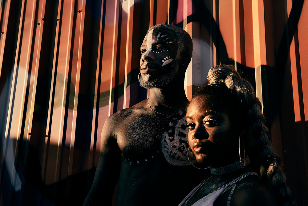 Festival goers at Afropunk Atlanta.