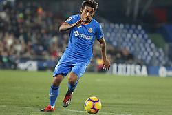 January 6, 2019 - Getafe, Madrid, Spain - Damian of Barcelona in action during the spanish league, La Liga, football match between Getafe and Barcelona on January 06, 2019 at Coliseum Alfonso Perez in Getafe, Madrid, Spain. (Credit Image: © AFP7 via ZUMA Wire)