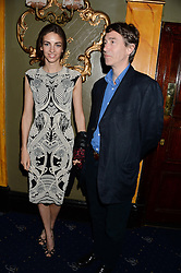 The MARQUESS & MARCHIONESS OF CHOLMONDELEY at the Hoping Foundation's 'Rock On' Benefit Evening for Palestinian refuge children held at the Cafe de Paris, London on 20th June 2013.