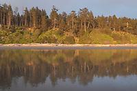Kalaloch Beach at sunset, Olympic National Park Washington