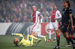 29-09-2016 NED: Europa League AFC Ajax - Standard de Liege, Amsterdam<br /> In de Amsterdamse Arena pakt Ajax zijn tweede overwinning in poule G. Standard Luik wordt met 1-0 verslagen / Davy Klaassen #10