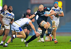 Jack Maunder of Exeter Chiefs - Mandatory by-line: Dougie Allward/JMP - 28/11/2020 - RUGBY - Sandy Park - Exeter, England - Exeter Chiefs v Bath Rugby - Gallagher Premiership Rugby