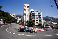 May 25, 2018 - Montecarlo, Monaco - 19 Lando NORRIS from Great Britain of CARLIN during the Monaco Formula Two race 1  at Monaco on 25th of May, 2018 in Montecarlo, Monaco. (Credit Image: © Xavier Bonilla/NurPhoto via ZUMA Press)
