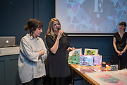 NO FEE PICTURES<br /> 12/4/18 Jenny Huston and Leah Hewson at the launch of their jewellery and fine art collaboration, Edge Only x Leah Hewson at The Dean Dublin. Arthur Carron