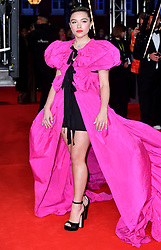 Florence Pugh attending the 73rd British Academy Film Awards held at the Royal Albert Hall, London.