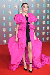 Florence Pugh attending the 73rd British Academy Film Awards held at the Royal Albert Hall, London. Photo credit should read: Doug Peters/EMPICS Entertainment
