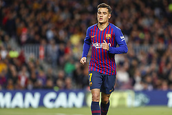 March 9, 2019 - Barcelona, Catalonia, Spain - FC Barcelona midfielder Philippe Coutinho (7) during the match FC Barcelona v Rayo Vallecano, for the round 27 of La Liga played at Camp Nou  on 9th March 2019 in Barcelona, Spain. (Credit Image: © Mikel Trigueros/NurPhoto via ZUMA Press)