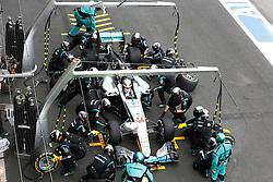 October 30, 2016 - Mexico - City, Mexico - Motorsports: FIA Formula One World Championship 2016, Grand Prix of Mexico, .#44 Lewis Hamilton (GBR, Mercedes AMG Petronas Formula One Team) (Credit Image: © Hoch Zwei via ZUMA Wire)