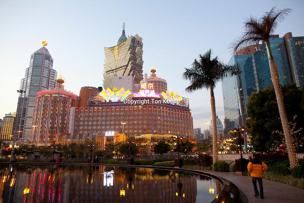 Wynn hotel and Casino in Macau, China
