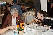 NICCOLO SPROVIERI; FATIMA MALEKI, Dinner to celebrate the 10th Anniversary of Contemporary Istanbul Hosted at the Residence of Freda & Izak Uziyel, London. 23 June 2015