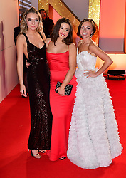 (left to right) Tilly Keeper, Jasmine Armfield and Louisa Lytton attending the National Television Awards 2019 held at the O2 Arena, London. PRESS ASSOCIATION PHOTO. Picture date: Tuesday January 22, 2019. See PA story SHOWBIZ NTAs. Photo credit should read: Ian West/PA Wire