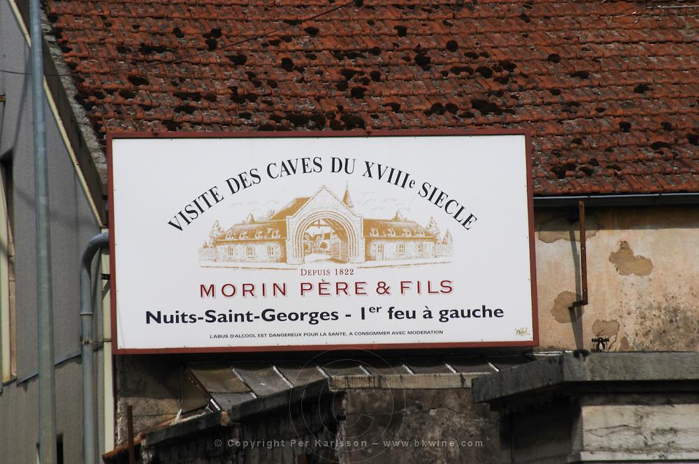 morin pere et fils nuits-st-georges cote de nuits burgundy france