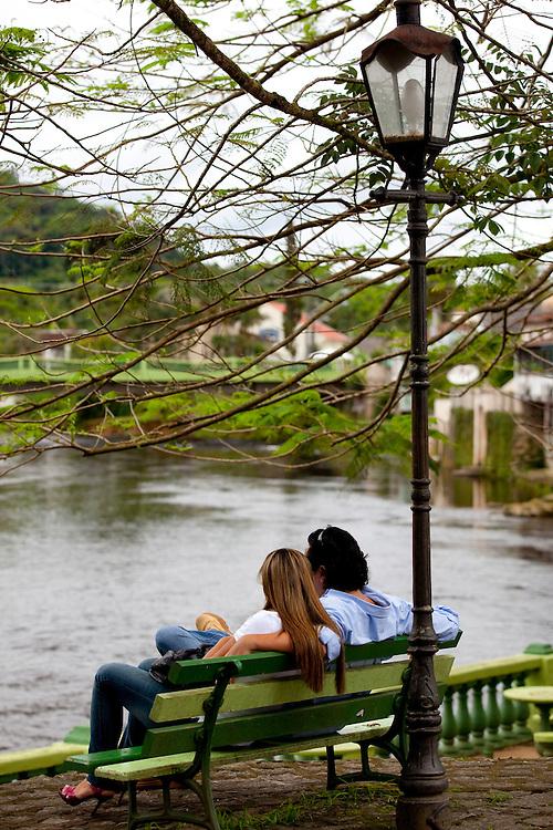 Morretes_PR, Brasil...Lago em Morretes, no Parana...A lake in Morretes, Parana...Foto: BRUNO MAGALHAES / NITRO