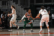 2017 Miami Hurricanes Women's Basketball vs Boston College