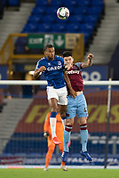 Football - 2020 / 2021 League (Carabao) Cup - Round 4 - Everton vs West Ham United - Goodison Park<br /> <br /> Everton's Dominic Calvert-Lewin battles with West Ham United's Declan Rice<br /> <br /> COLORSPORT/TERRY DONNELLY
