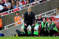 Arsene Wenger (Arsenal manager). Arsenal Vs Hull City. Barclays Premier League. Emirates Stadium. London. 27/09/2008. Credit Colorsport/Garry Bowden