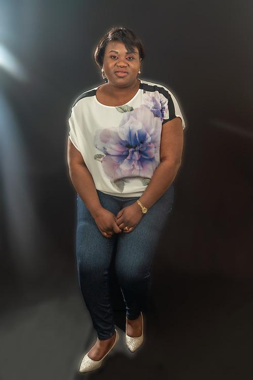 Woman sitting pose