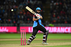 Worcestershire Rapids' Ross Whiteley bats during the Vitality T20 Blast Final on Finals Day at Edgbaston, Birmingham.
