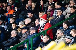 Santa was at the match during football match between NŠ Mura and NK Triglav in 19th Round of Prva liga Telekom Slovenije 2018/19, on December 9, 2018 in Fazanerija, Murska Sobota, Slovenia. Photo by Blaž Weindorfer / Sportida