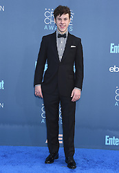 Celebrities arrive on the red carpet for the 22nd Annual Critics' Choice Awards held at Barker Hanger in Santa Monica. 11 Dec 2016 Pictured: Nolan Gould. Photo credit: American Foto Features / MEGA TheMegaAgency.com +1 888 505 6342
