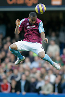 Photo: Marc Atkins.<br />Chelsea v West Ham United. The Barclays Premiership. 18/11/2006. Danny Gabbidon of West Ham in action.