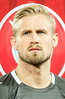 CLUJ-NAPOCA, ROMANIA, MARCH 26: Denmark's national soccer player Kasper Schmeichel pictured before the 2018 FIFA World Cup qualifier soccer game between Romania and Denmark, on March 26, at Cluj Arena Stadium, in Cluj-Napoca, Romania. (Photo by Mircea Rosca/Getty Images)