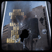The smashed window of a Bershka shop on Ermou Street. <br /> <br /> Following the murder of a 15 year old boy, Alexandros Grigoropoulos, by a policeman on 6 December 2008 widespread riots, protests and unrest followed lasting for several weeks and spreading beyond the capital and even overseas<br /> <br /> When I walked in the streets of my town the day after the riots I instantly forgot the image I had about Athens, that of a bustling, peaceful, energetic metropolis and in my mind came the old photographs from WWII, the civil war and the students uprising against the dictatorship. <br /> <br /> Thus I decided not to turn my digital camera straight to the destroyed buildings but to photograph through an old camera that worked as a filter, a barrier between me and the city.