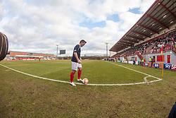 Falkirk's Sean Higgins..Hamilton 1 v 2 Falkirk, Scottish Cup quarter-final, Saturday, 2nd March 2013..©Michael Schofield.