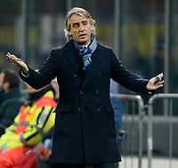 Delusione Roberto Mancini Inter<br /> Milano 20-12-2015 Stadio Giuseppe Meazza - Football Calcio Serie A Inter - Lazio. Foto Giuseppe Celeste / Insidefoto