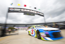 April 6, 2018 - Ft. Worth, Texas, United States of America - April 06, 2018 - Ft. Worth, Texas, USA: Austin Dillon (3) comes in from practice for the O'Reilly Auto Parts 500 at Texas Motor Speedway in Ft. Worth, Texas. (Credit Image: © Stephen A. Arce Asp Inc/ASP via ZUMA Wire)