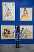 Bhupen Khakhar: You Can't Please All at Tate Modern. It is the first international retrospective of the Indian artist since his death. He was known for his vibrant, bold works that examine class and sexuality. The Exhibition runs from 1 June – 6 November 2016.