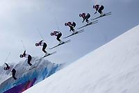 Freestyle<br /> OL Sochi 2014<br /> Foto: imago/Digitalsport<br /> NORWAY ONLY<br /> <br /> 20.02.2014, Rosa Khutor Extreme Park, Krasnaya Polyana, RUS, Sochi / Sotschi 2014, Ski Cross, Herren, im Bild Christian Mithassel (NOR) // Christian Mithassel of Norway during the Mens Ski Cross of the Olympic Winter Games Sochi / Sotschi 2014 at the Rosa Khutor Extreme Park in Krasnaya Polyana