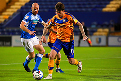 Andy Cook of Mansfield Town runs on the ball - Mandatory by-line: Ryan Crockett/JMP - 27/10/2020 - FOOTBALL - One Call Stadium - Mansfield, England - Mansfield Town v Barrow - Sky Bet League Two