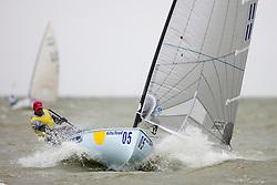 Edward Wright, GBR, Finn, Day 4, May 27th, Delta Lloyd Regatta in Medemblik, The Netherlands (26/30 May 2011).