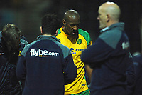 Photo: Paul Greenwood.<br />Preston North End v Norwich City. Coca Cola Championship. 20/02/2007. Norwich's Dion Dublin is substituted early on