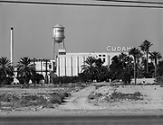 0301-cudahy. Cudahy meat packing plant, 50th & Van Buren Sts., Phoenix Arizona, which closed in the late 1970s. photo about 1960.