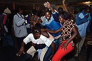 The dance floor, photographed at a bar in Vilanculos. Mozambique. Around 59% of all adults living with HIV in sub-Saharan Africa are women.