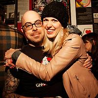 Schtick or Treat - November 1, 2011 - Bowery Poetry Club - Jim VanBlaricum, Emily Fleming