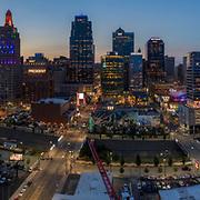 Above Main Street, Kansas City, Missouri